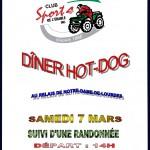 Dîner Hot-Dog 2015-3-7